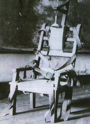 The first person who was executed via the electric chair was William Kemmler